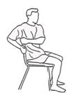 ćwiczenie przy biurku 3